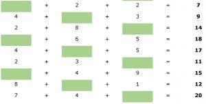 voorbeeldoefeningen : puntoefeningen tot 20