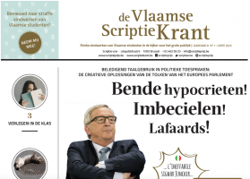 Cover of the Vlaamse ScriptieKrant