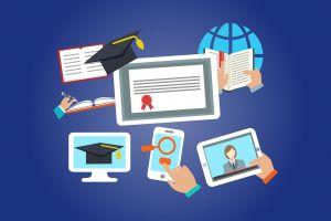 items i.v.m. online leren