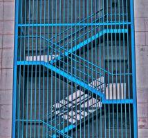 Blauwe trappen