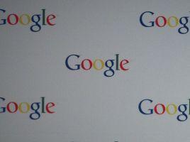Het logo van Google.