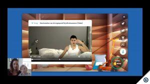 Een beeld uit de screencast.