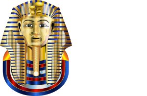 Egyptsich maskers.