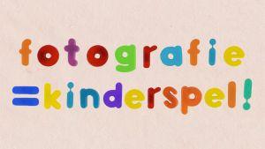 woorden fotografie = kinderspel