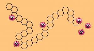screenshot van het spelbord