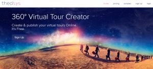 Homepage van Theasys.io
