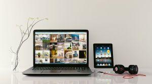 laptop, smartphone