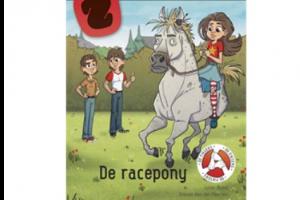 cover van het boek 'De racepony'