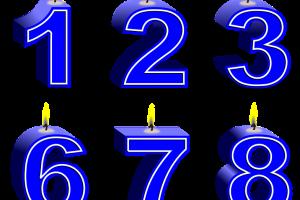 blauwe cijfers
