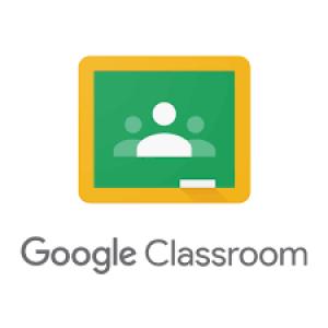 Het logo van Google Classroom.