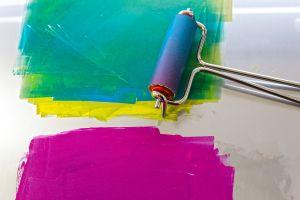 kleuren mengen, stempelvlak