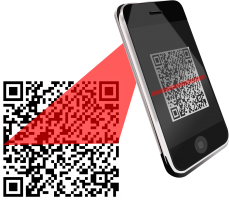 smartphone scant qr-code