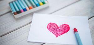Tekening met hart