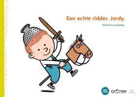 ridder Jordy op zijn stokpaard
