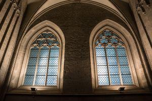 gotische ramen