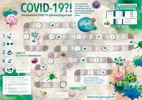 preventiemaatregelen Covid-19, spelbord