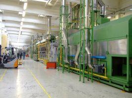 machine in fabriek