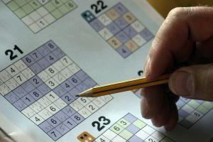 iemand lost een sudoku op