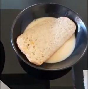 wentelteefje in de pan