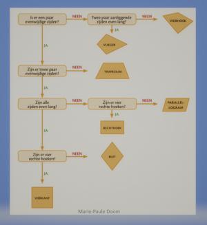 algoritme voor keuze vierhoek