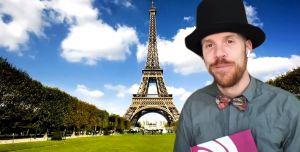 Screenshot video vertellen WIm staat voor de Eiffeltoren
