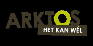 logo arktos: tekst arktos + baseline het kan wél