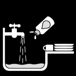 picto afwassen