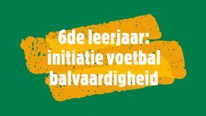 Titel initiatie voetbal - balvaardigheid