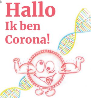 Titel 'Hallo, ik ben Corona!'