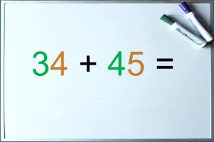 34 + 45