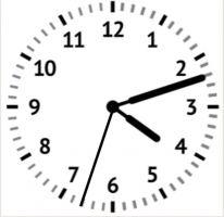 klok met secondewijzer