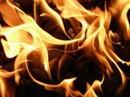 vlammen