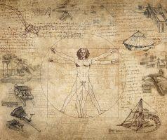 tekening van da Vinci