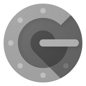 Logo van de Google Authenticator applicatie.