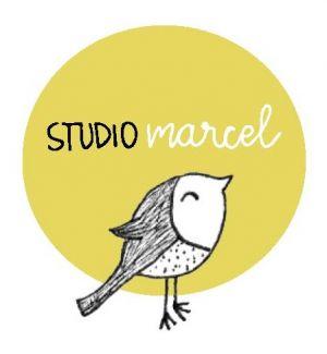 Logo studio Marcel