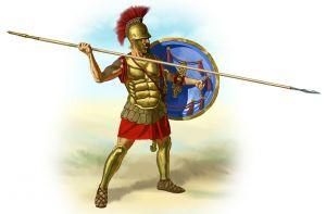 een Romeins soldaat