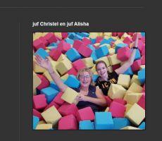 foto van juf Christel en juf Alisha