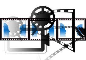 Verschillende filmsymbolen door elkaar
