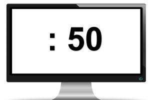 scherm met:50