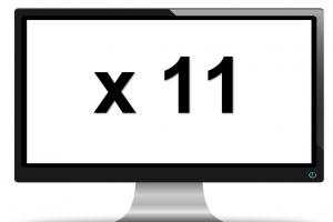 scherm met x11