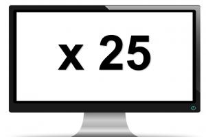 scherm x25