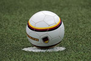 voetbal op de stip