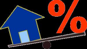 huis en procent-teken
