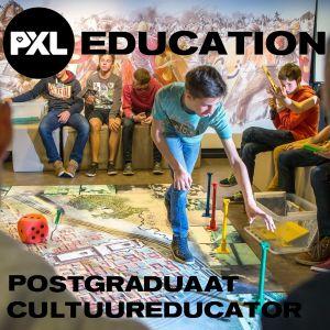 Logo Postgraduaat Cultuureducator