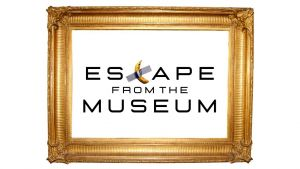 Screenshot video met titel escape from the museum
