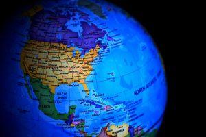 Afbeelding van een wereldbol