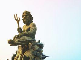 Standbeeld van Poseidon
