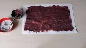 Screenshot video met daarop een blad en de modder die je maakte