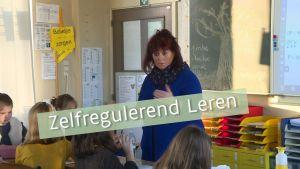Juf Hilde in haar klas