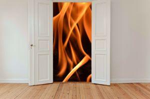 vuur in huis